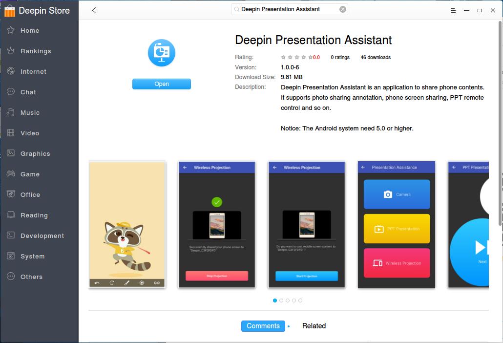 RE: Deepin Presentation Assistant - новое приложение в магазине